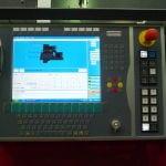 Shotblast control panel