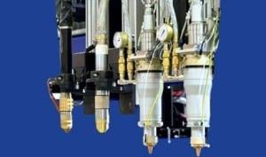 Fiber Laser Plasma Combination