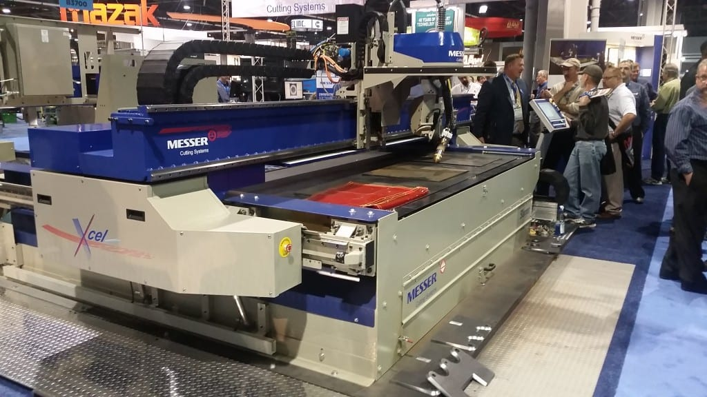 Hydefinition plasma beveling machine